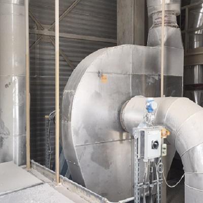 industrie ventilator stofafzuiging